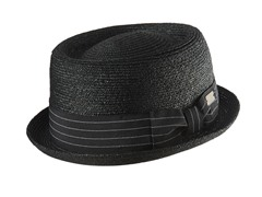 Bailey For Hollywood Lamar Hat, Black