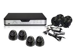 4CH H.264 Camera System with 500GB DVR