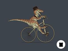 Villainous Velociraptor iPad Sleeve