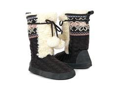 MUK LUKS® Women's Jewel Boot, Blue Steel