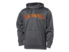 Grey w/ Orange Stitched Logo