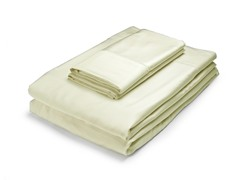 Rayon from Bamboo Sheets-Ivory-2 Sizes