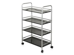 Xiannan L60 Metal 4-Tray Rolling Cart