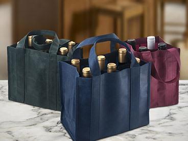 20 Random Cloth Wine Bags