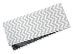 Chevron Table Runner-Gray