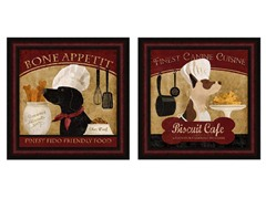 Chef Dogs Set of 2