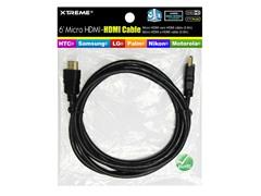 6' Micro HDMI to HDMI Cable