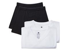 Kings Underwear V-Neck Shirt/Boxer -4-Pk