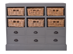 Nantucket Chest - Dark Gray