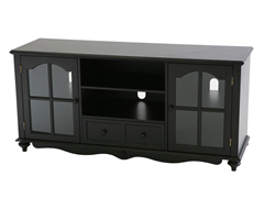 SEI Coventry Large TV Console - Black