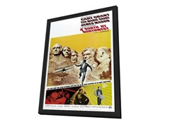 North by Northwest Framed Movie Poster