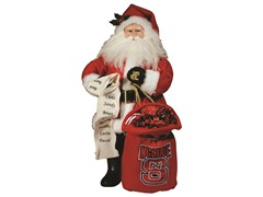 Santa Claus w/bag - North Carolina State