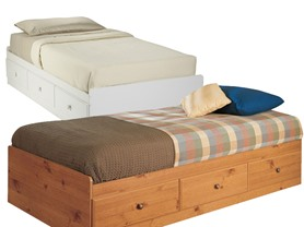 Twin Bed With Storage - Your Choice