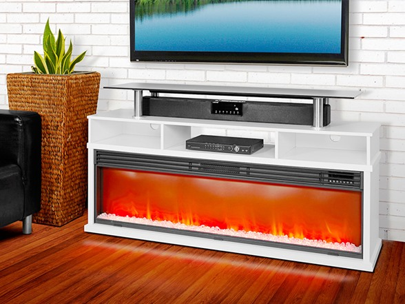 "60"" Media Fireplace (2 Colors)"