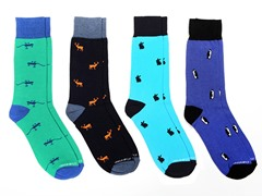 Unsimply Stitched Men's Socks 4-Pack