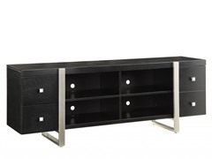 "Homelegance Metro 72"" Black TV Console"