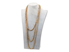 Gold Color Statement Necklace