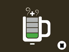 Coffee Levels Critical iPad Sleeve