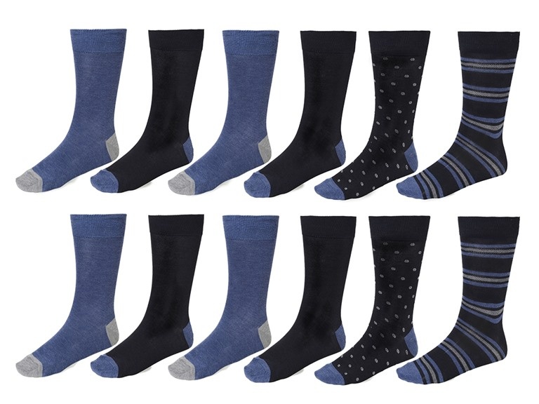 Men's Kenneth Cole Fancy 12 Pack Socks