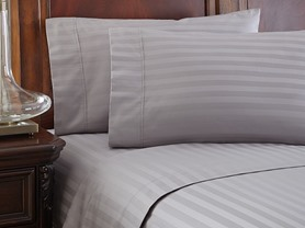 500TC 100% Pima Cotton Damask Sheet Sets