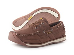KEEN Men's Newport Boat Shoe, Bison (8)