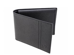 ST Dupont Leather Billfold w/Window, Blk