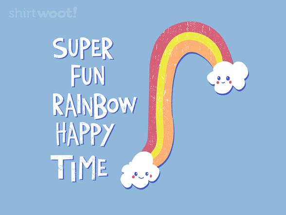 Super Fun Happy Rainbow Time XQ93216w