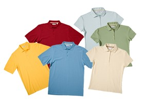 3 Pack Men's and Women's Pima Polo Shirts
