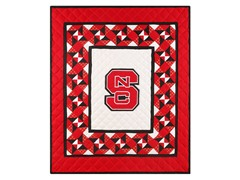 North Carolina State Quilted Throw B
