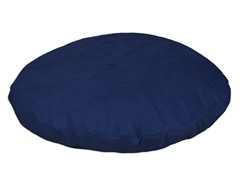 "Passion Suede Navy 35"" Round Pet Bed"