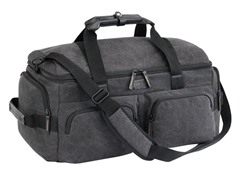 Urban Gear Duffel Canvas Bag - Grey