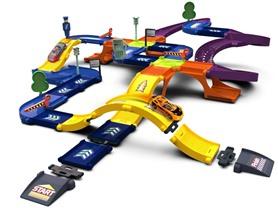 46-Pc 3D Race Track Set