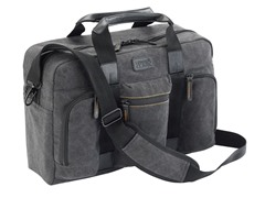Urban Gear Canvas Briefcase - Grey