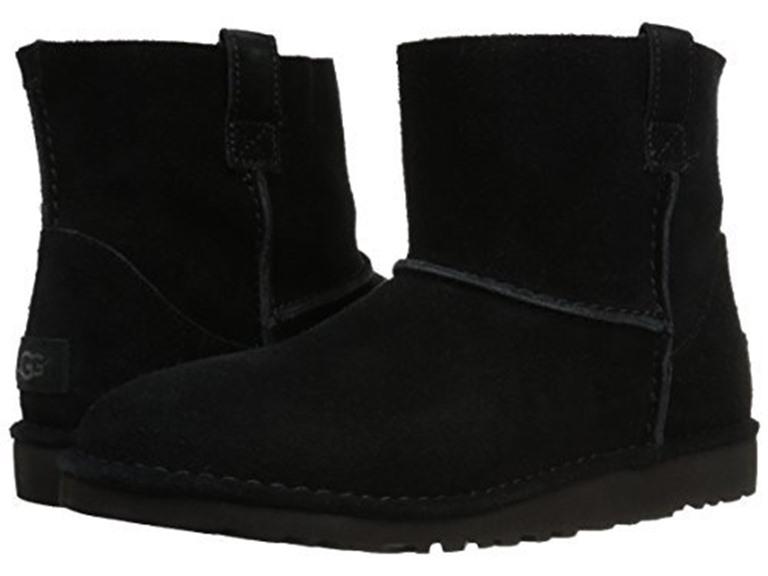 Ugg mini bailey button 1016422 sygr (40) amazon shoes neri pelle