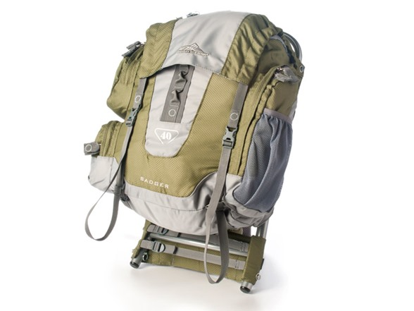 high sierra badger 40 external frame backpack woot