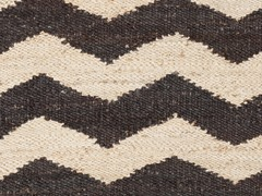 Charcoal/Beige Hand Woven Rug (9-Sizes)