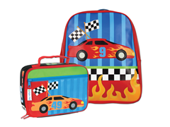 Race Car Go-Go Bag & Lunchbox
