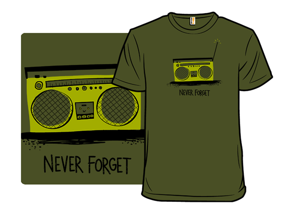 Remember the Boombox T Shirt f357cddd-e5e6-4f8c-877e-5685c3059ef1