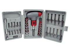 36-Piece Screwdriver Socket and Bit Set