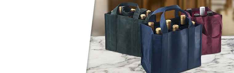 20 Random Cloth Wine Bags