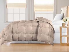 Down Alternative Comforter-Khaki-3 Sizes