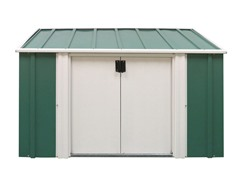 6' x 3' Horizontal Steel Shed
