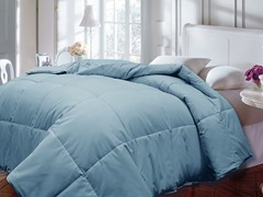 Down Alternative Comforter-Lt. Blue-2 Sizes