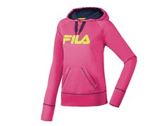 Fila  Performance Hoody - Pink/Peacoat
