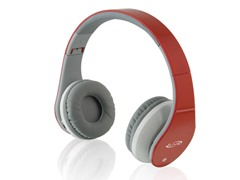 iLive Stereo Bluetooth Headphones - Red