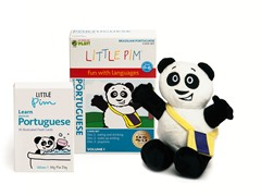 Volume 1 w/ Flashcards & Panda - Portugese