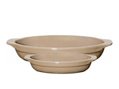 2pc Oval Gratin Set - Sand