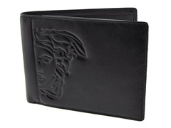 Versace Men's Black Billfold Wallet