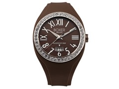 Men's BOX 40Z BROWN Brown Dial Watch