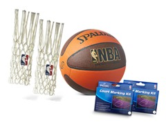 Basketball Game in a Bundle